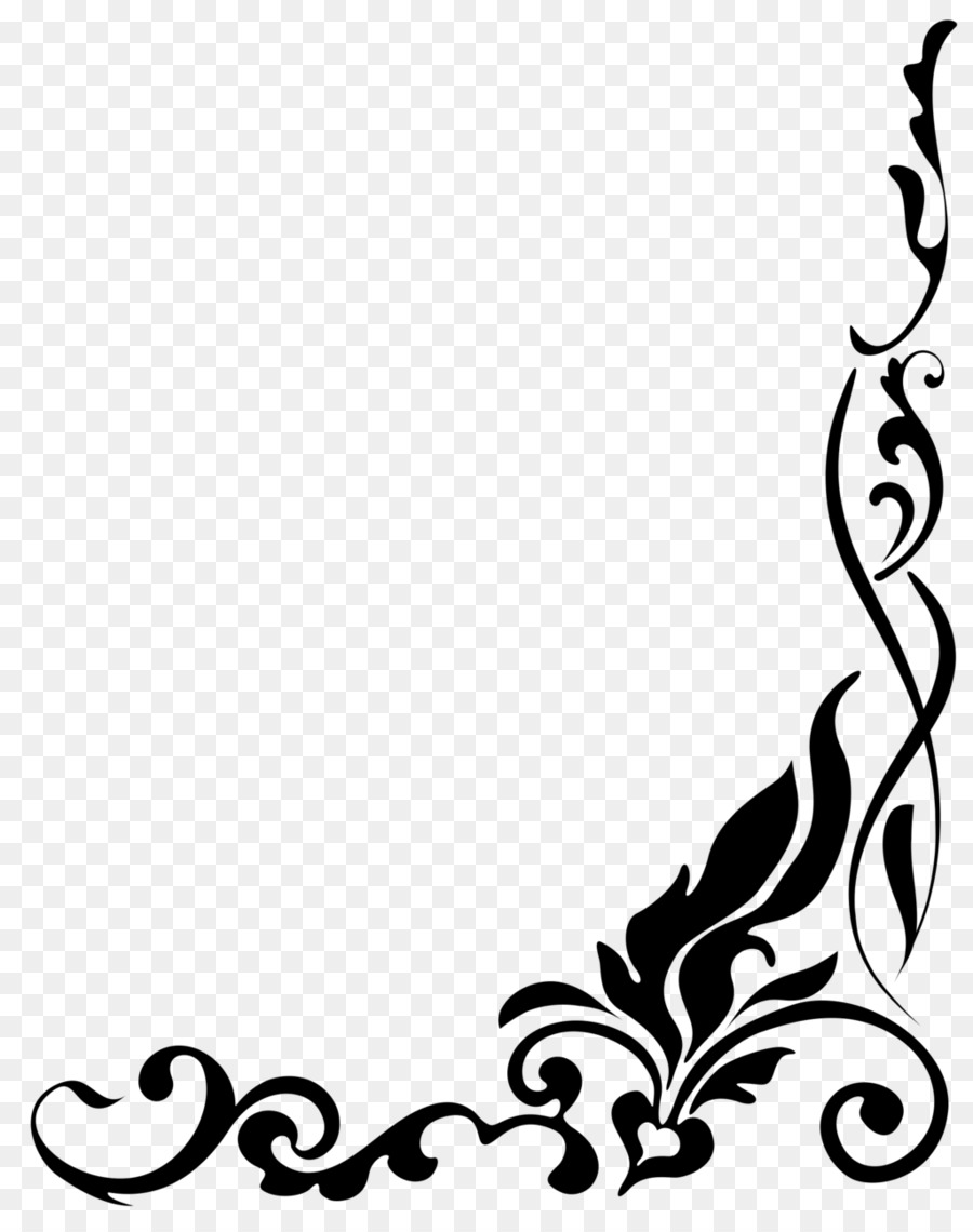 Border Flowers Clip Art Flower Png Download 10241280 Free