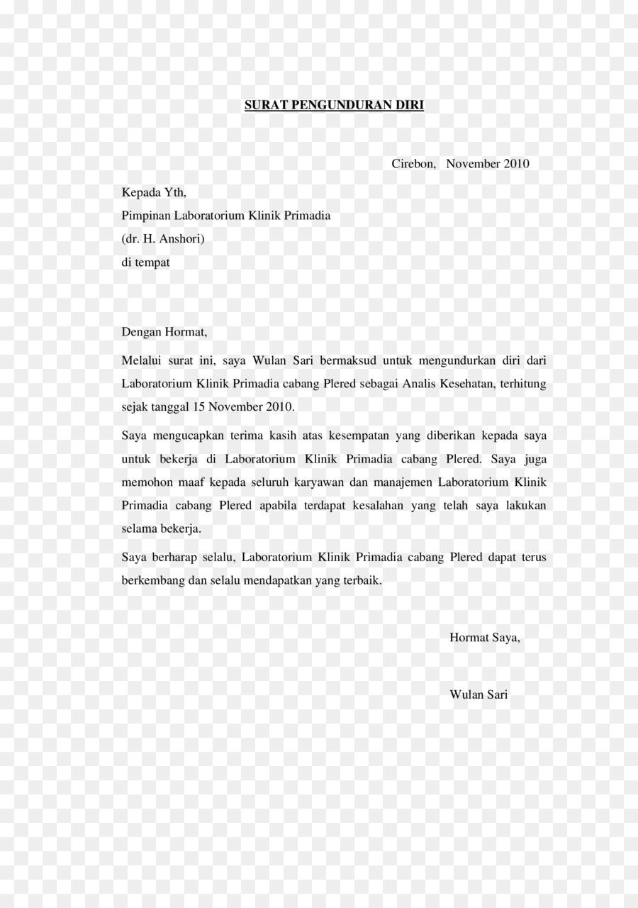 Documento de Carta de renuncia - Renuncia Formatos De Archivo De ...