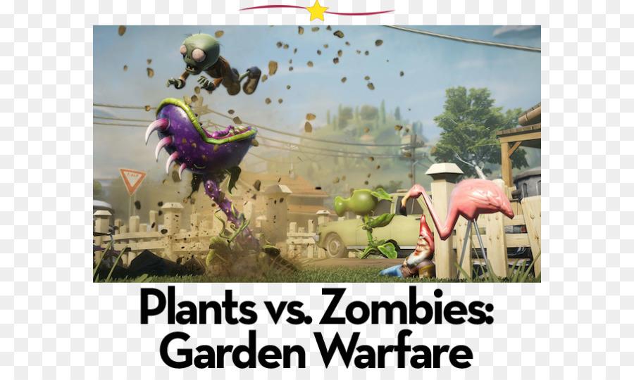 Plants vs zombies garden warfare аркадная игра на пк 2014 растения.