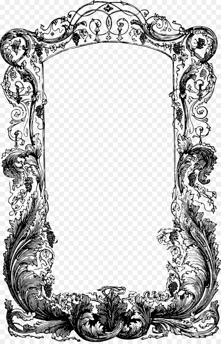 Picture Frames Window Clip art - window png download - 1552*2400 ...