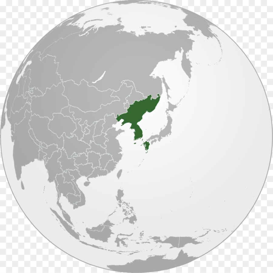 North Korea South Korea Korean Empire World Manchuria - world map ...