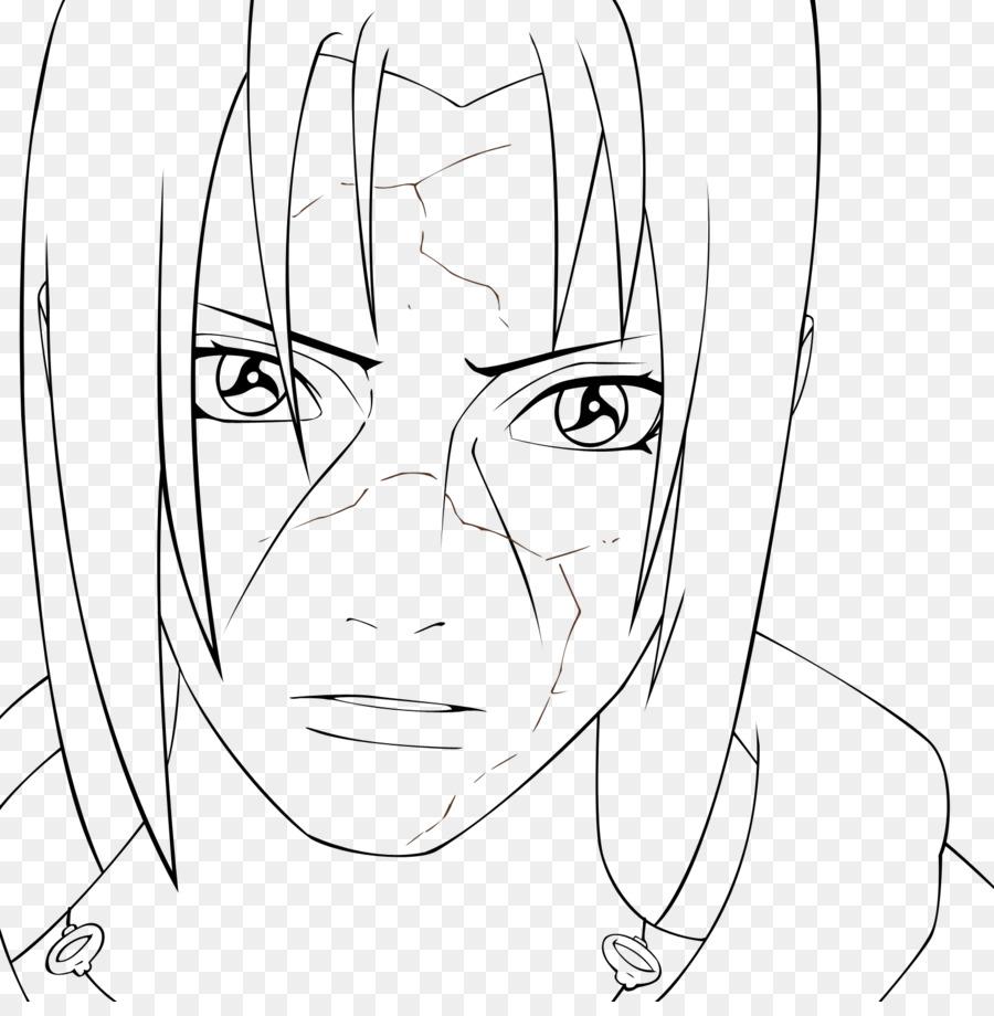 Itachi Uchiha Ligne Art Sasuke Uchiha Dessin En Noir Et Blanc