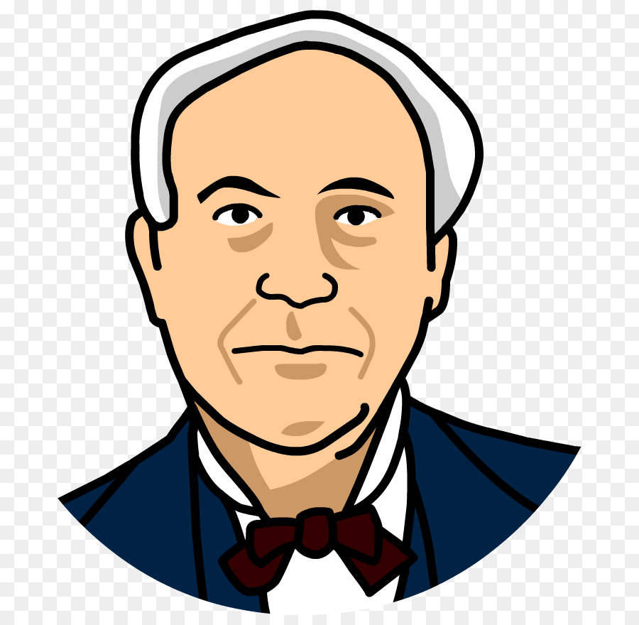 thomas edison inventor clip art edison png download 880 880 rh kisspng com Thomas Edison Poster thomas edison light bulb clipart