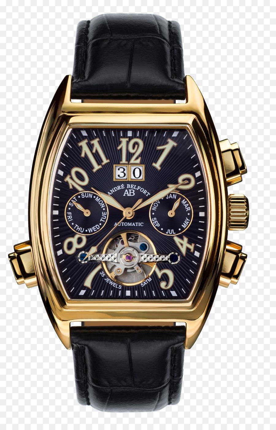 Automatic Watch Clock Strap Fossil Mens Townsman Men