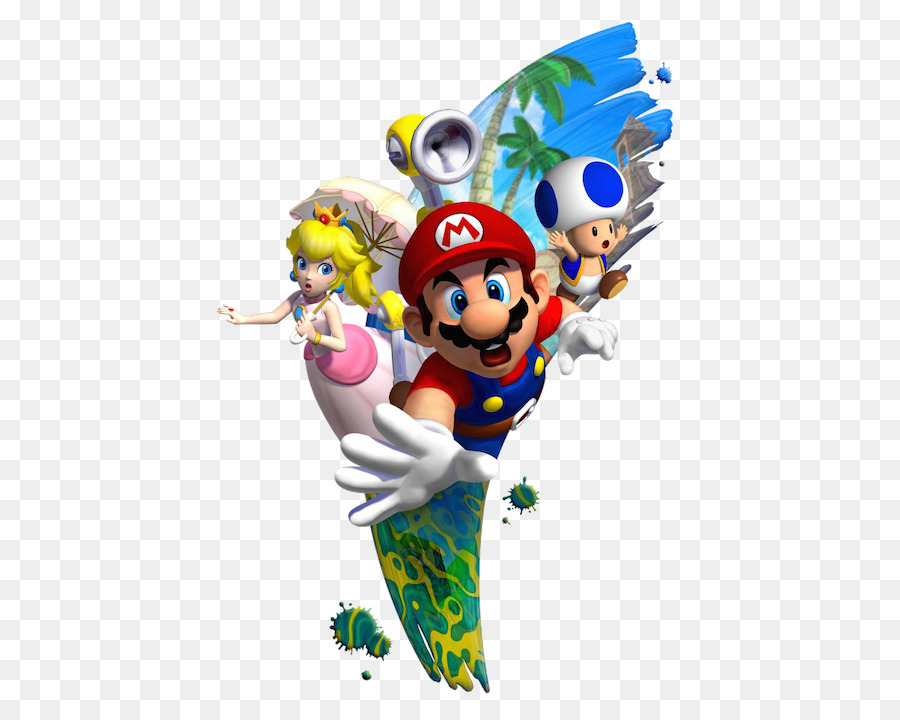 Super Mario Sunshine Super Mario Bros Gamecube Wii Super Mario