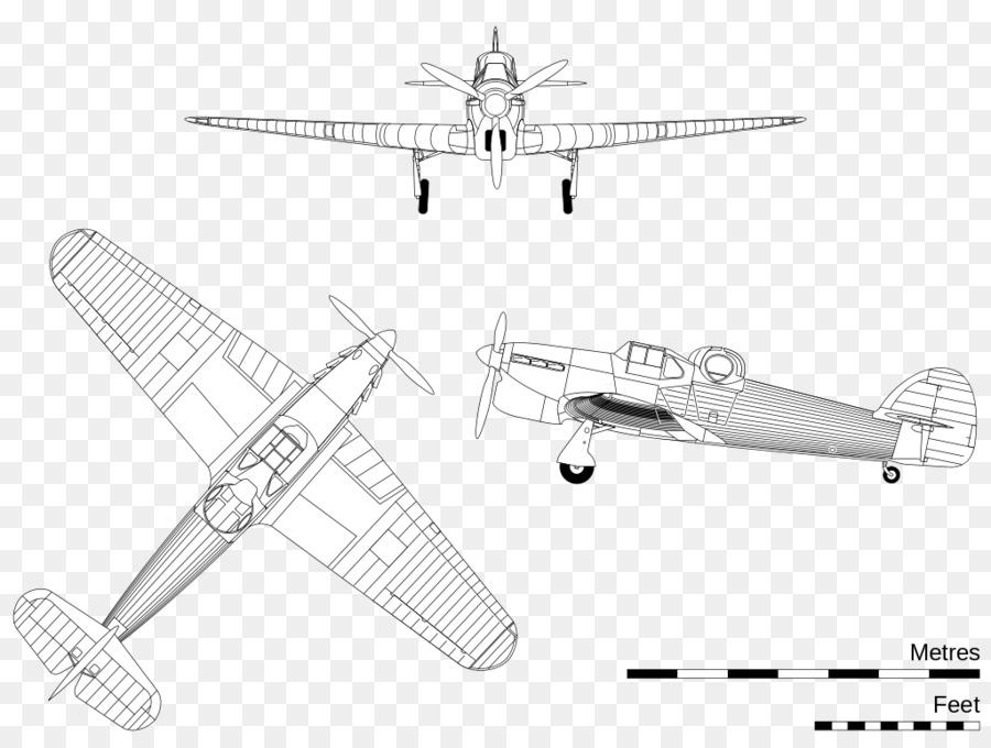 Propeller Aircraft Drawing Hawker Hotspur Aerospace Engineering