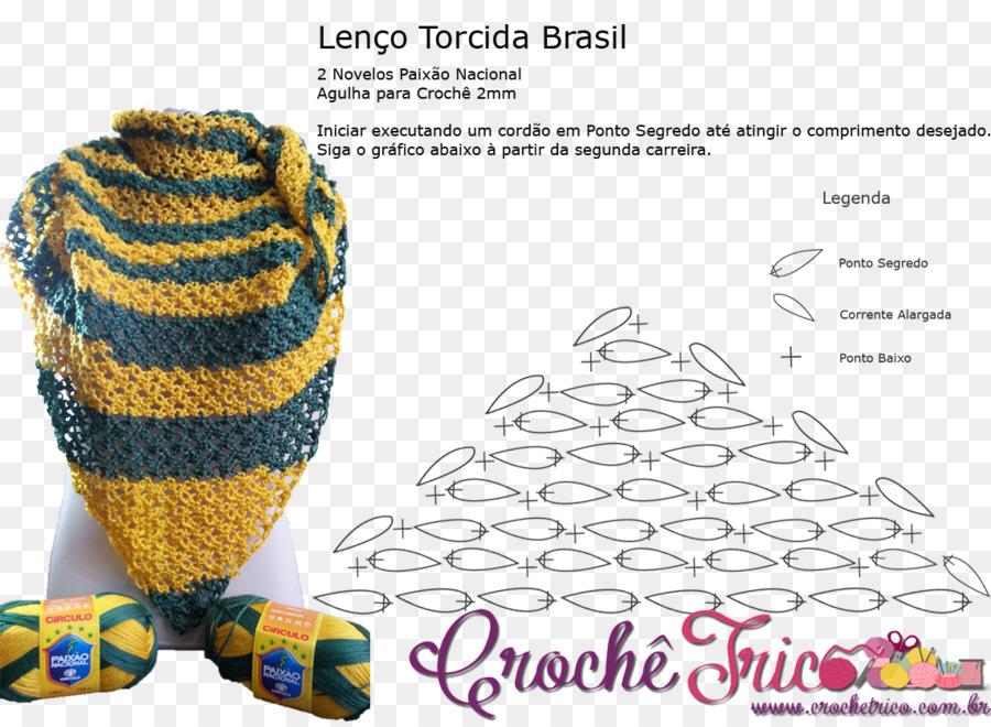 Headgear Crochet Pattern - Torcida brasil png download - 1143*832 ...
