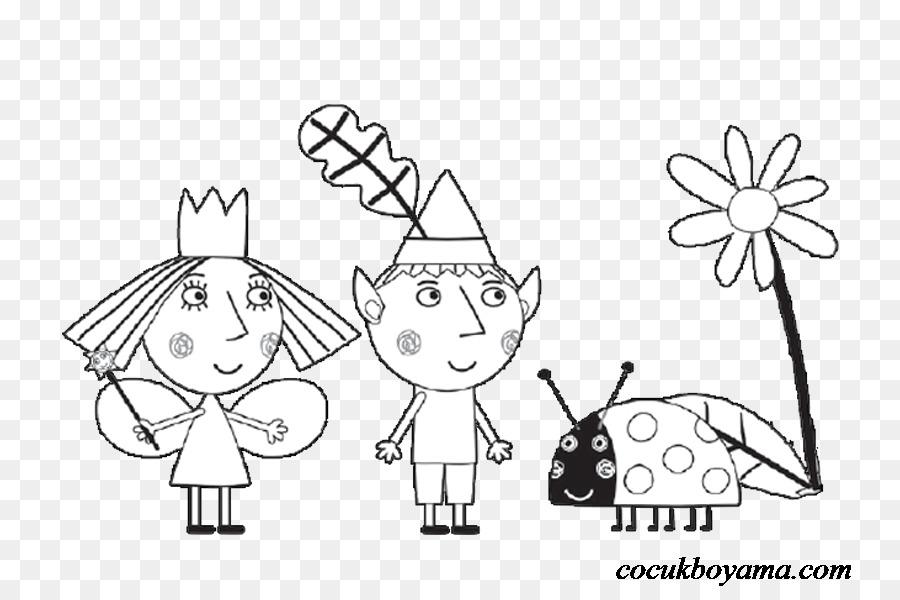 Dibujo para Colorear libro Niñera Ciruela Viejo Sabio Elfo Niño ...