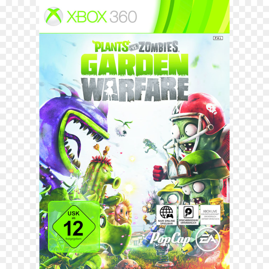 plants vs zombies garden warfare 2 xbox 360 video game garden warfare - Plants Vs Zombies Garden Warfare 2 Xbox 360