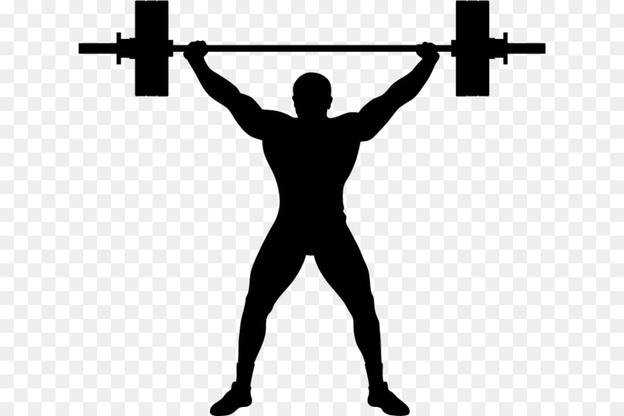Olympic Weightlifting Weight Training Squat Clip Art