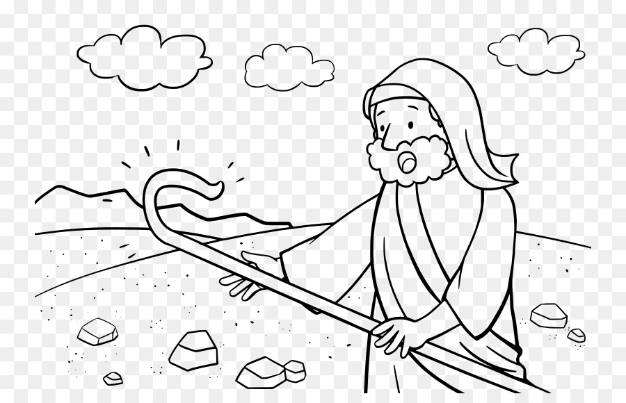 La biblia becerro de Oro de la zarza Ardiente libro para Colorear ...