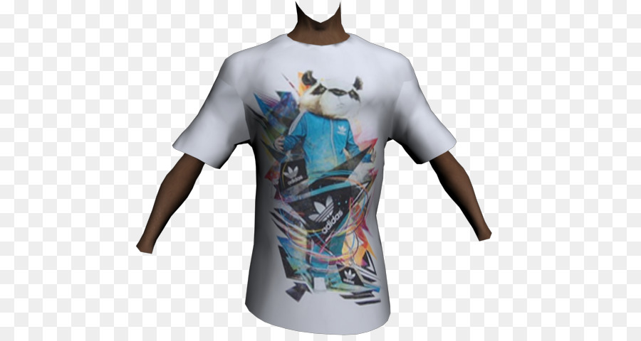 ad3279c08e84 T-shirt Grand Theft Auto  San Andreas Clothing Adidas Grand Theft Auto   Episodes from Liberty City - T-shirt png download - 640 480 - Free  Transparent ...