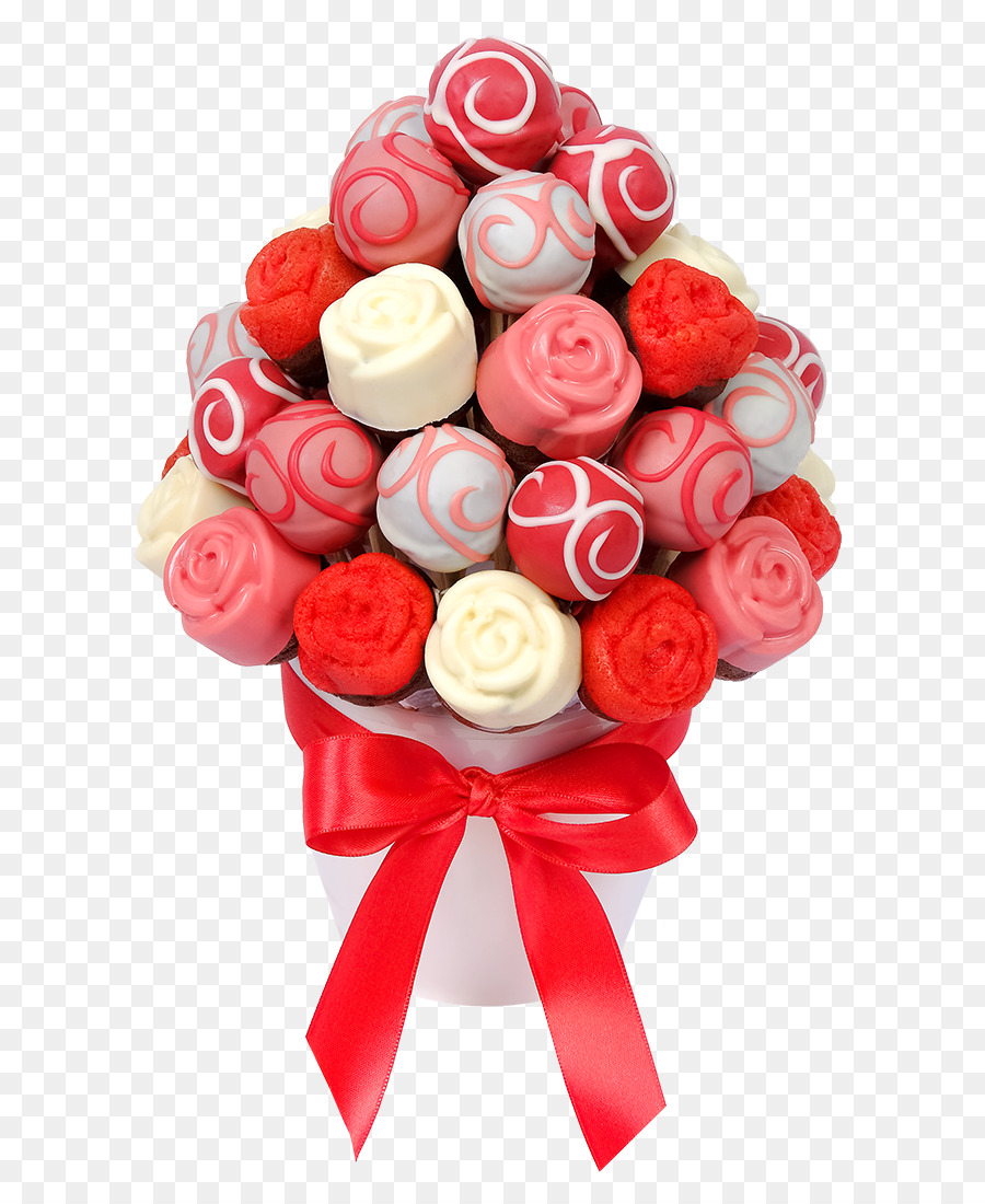 Flower Bouquet Gift Cake Pop Muffin Gift Png Download 9001100