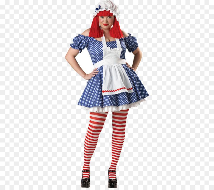 Raggedy Ann Ragdoll Rag doll Halloween costume - Rag Doll & Raggedy Ann Ragdoll Rag doll Halloween costume - Rag Doll png ...