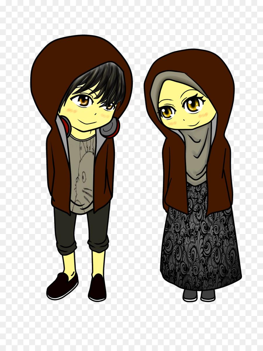 Muslim Hashtag Allah Islam Muslim Couple Png Download 12001600
