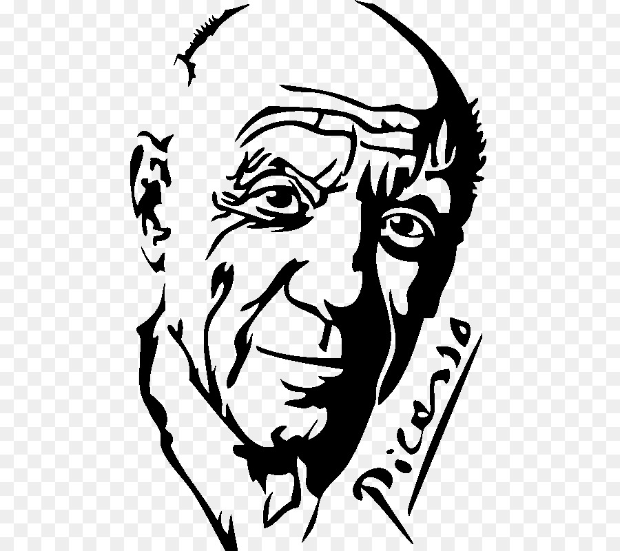 Wall decal Picasso: 16 Art Stickers Drawing Clip art - picasso png ...