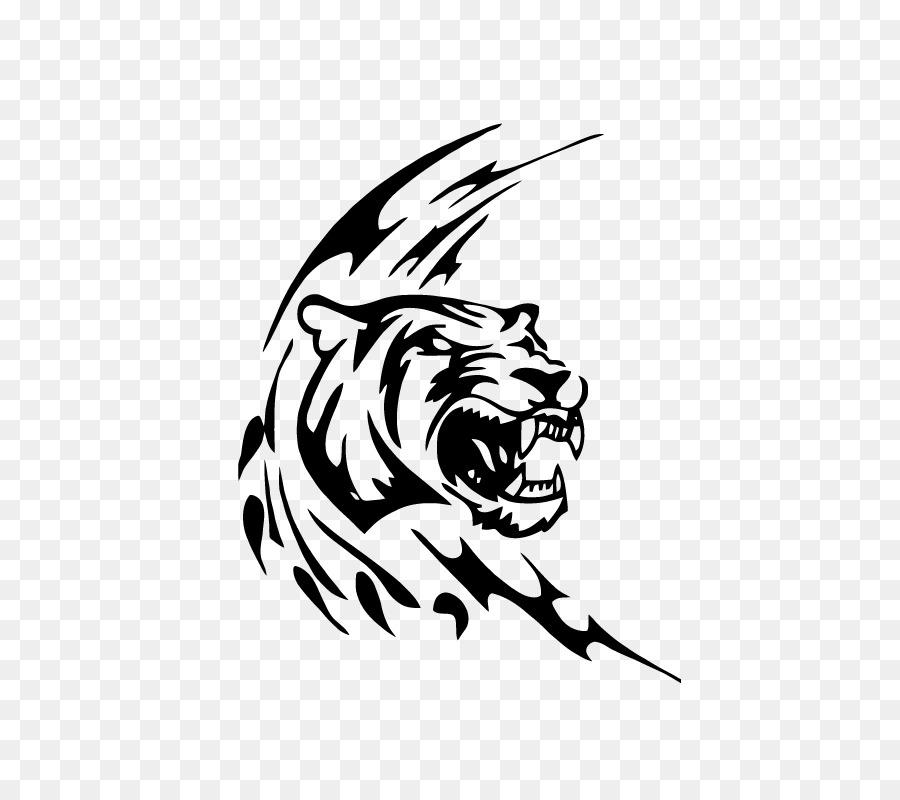 La pantera de León Leopardo Dibujo de tigre Blanco - león png dibujo ...