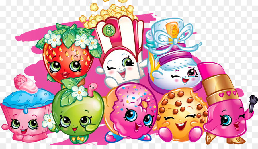 Shopkins transparent background. Cake cartoon png download