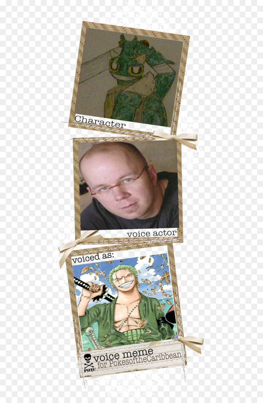 Picture Frames One Piece - Christopher Sabat png download - 580*1375 ...