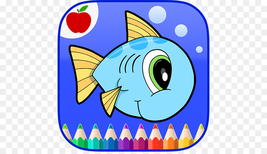 Poke Canavar çizgi Filmleri Için Okyanus Hayvanları Boyama Kitabı