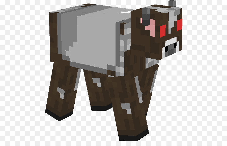 Minecraft Nom Nom Android YouTube Mvt Cow Skin Png Download - Skin para minecraft pe cow
