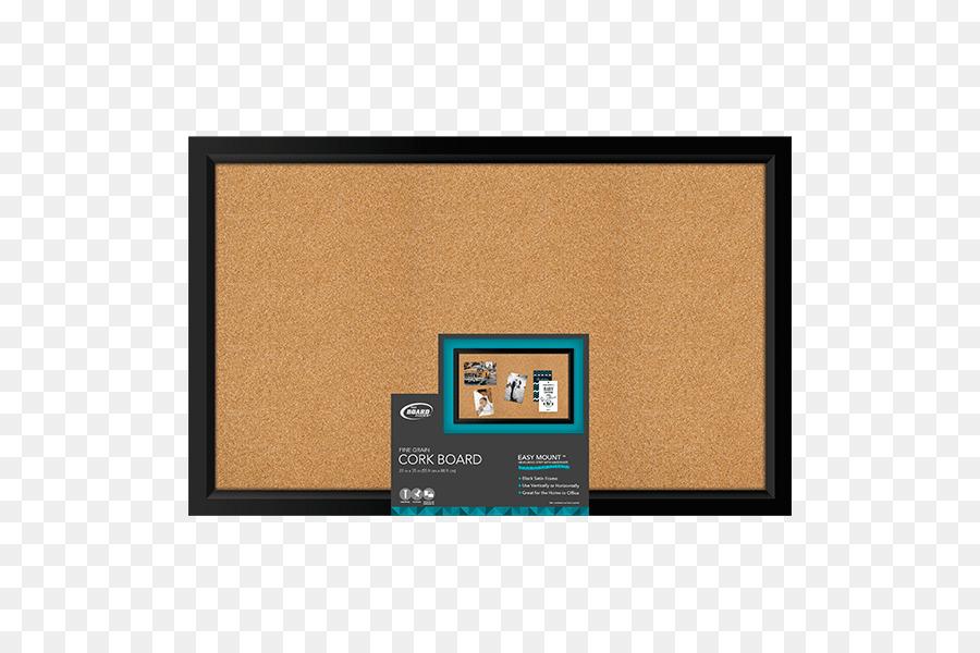 Bulletin board Picture Frames Cork Foam core Wall - cork board png ...