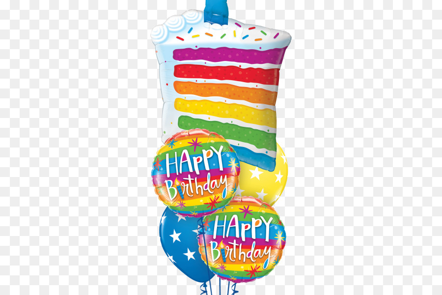 Birthday Cake Balloon Toy PNG