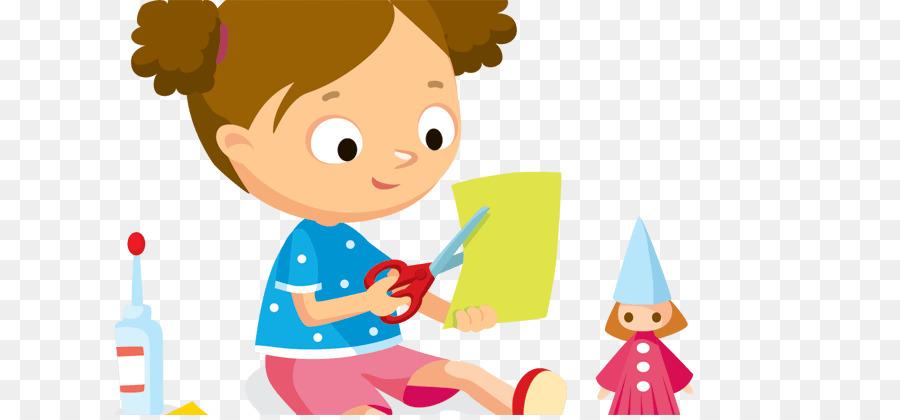 Paper Craft Art Clip Art Little Kids With Various Summer Png