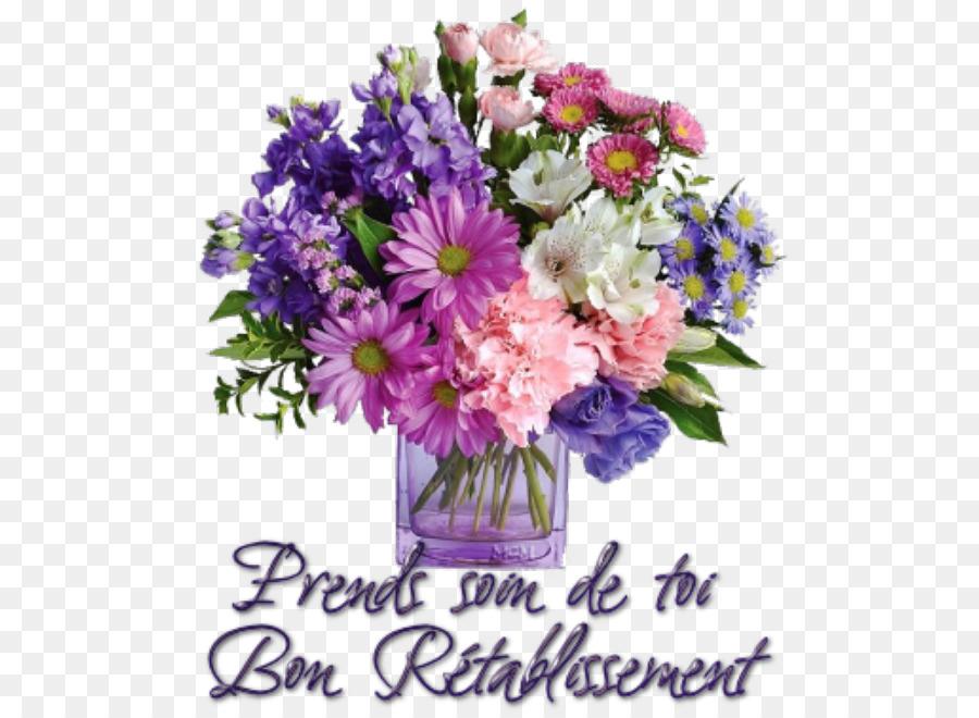 Flower Bouquet Birthday Cut Flowers PNG
