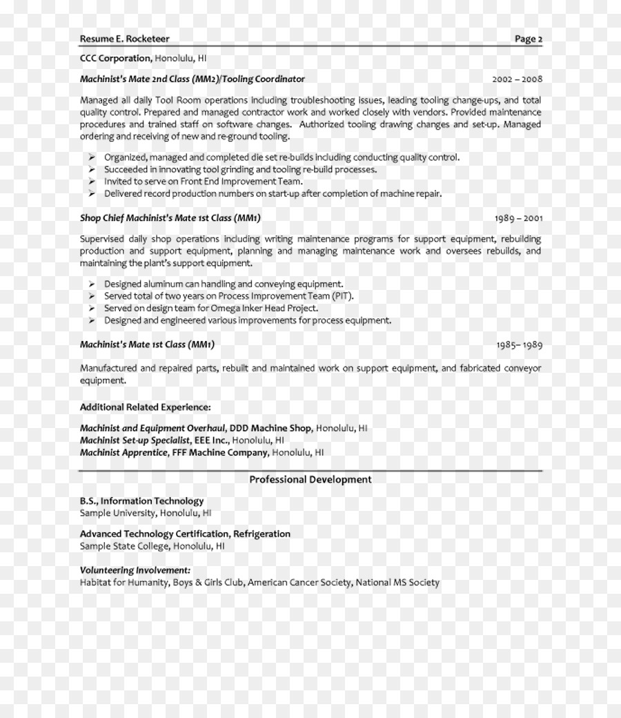 résumé template mechanical engineering engineer png download 800