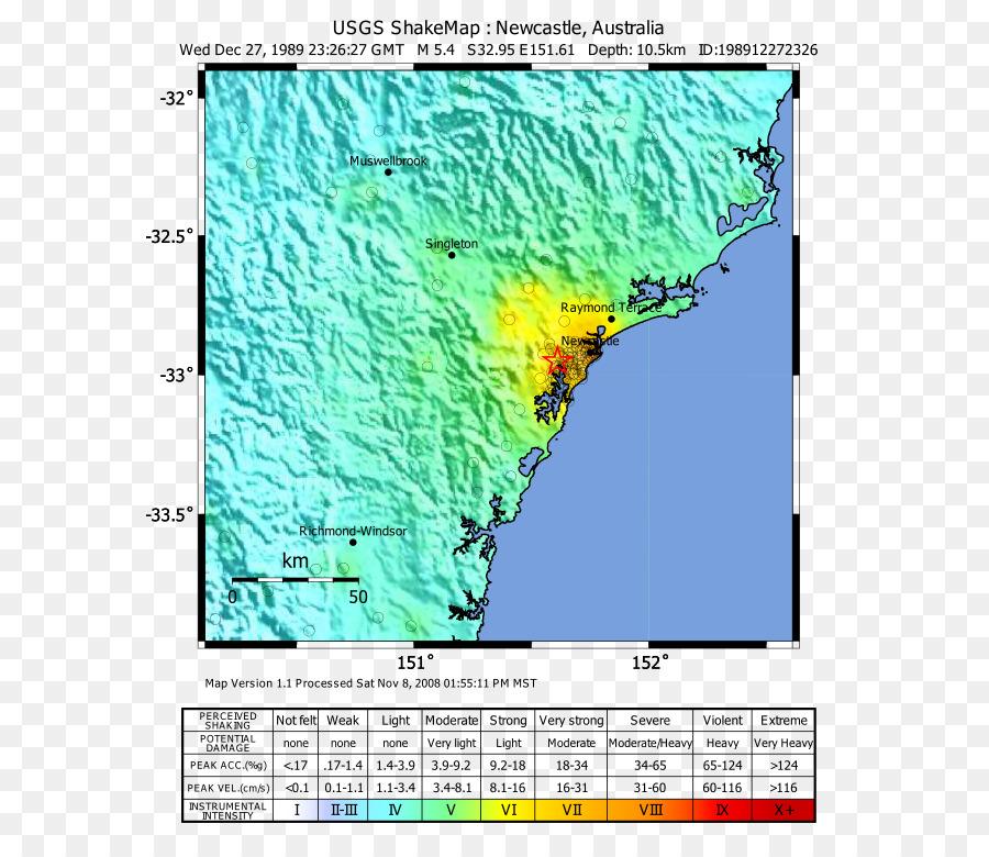 2016 Tanzania earthquake 1989 Newcastle earthquake M 5.9 - 27km ENE ...