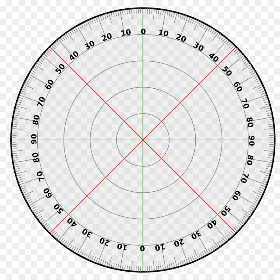 Protractor Circle Degree Template Turn - 360 Degrees png download ...