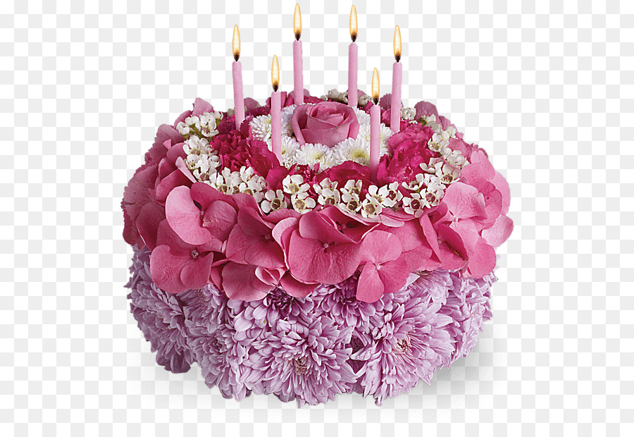 Birthday Cake Flower Bouquet Floristry Birthday Png Download 618