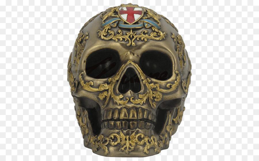 Cráneo esqueleto Humano Anatomía de una escultura de Bronce - cráneo ...