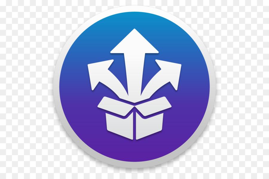 StuffIt Expander RAR O Unarchiver - apple - Transparente Símbolo