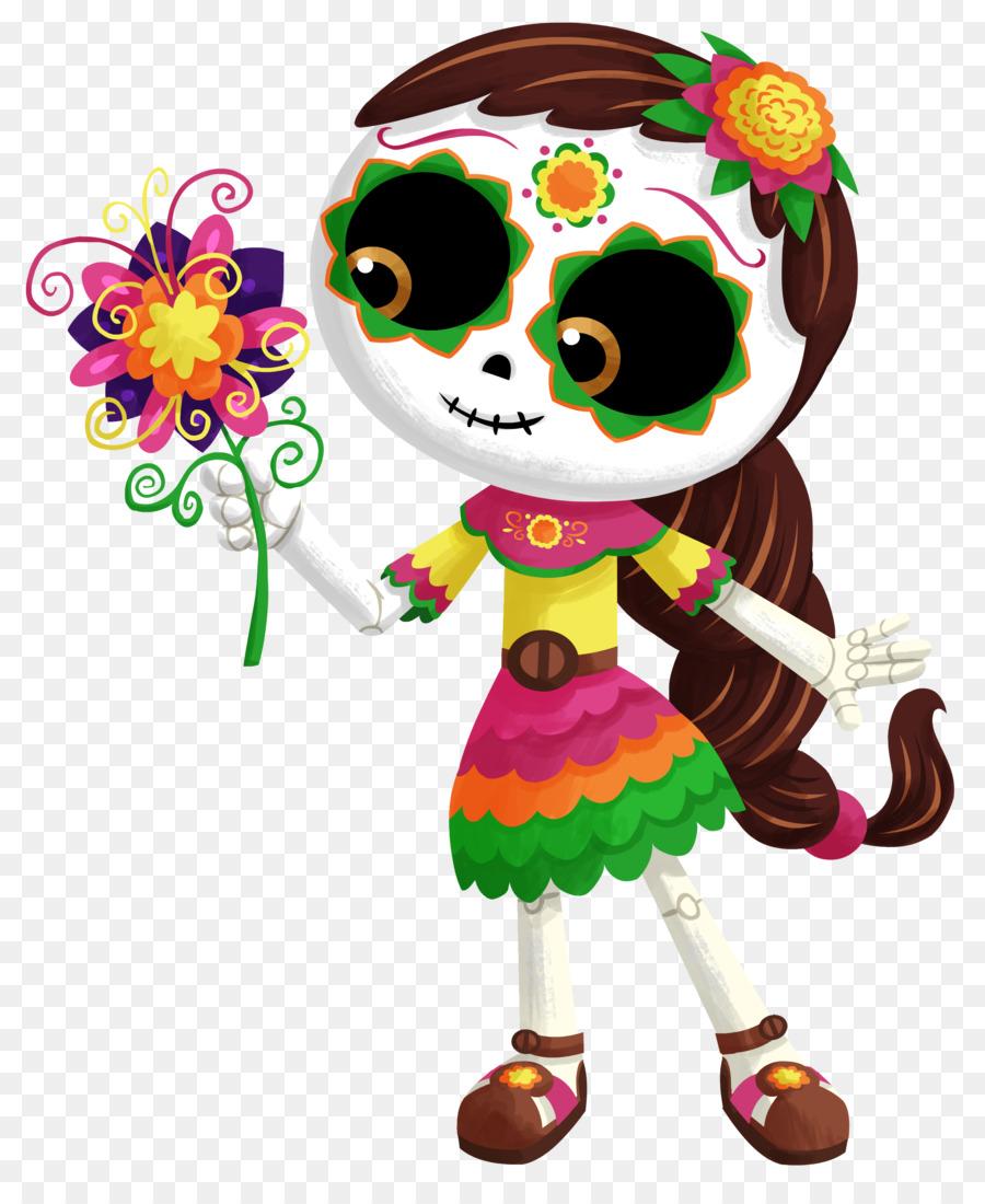 La Calavera Catrina Mexico Day Of The Dead Death Halloween Png