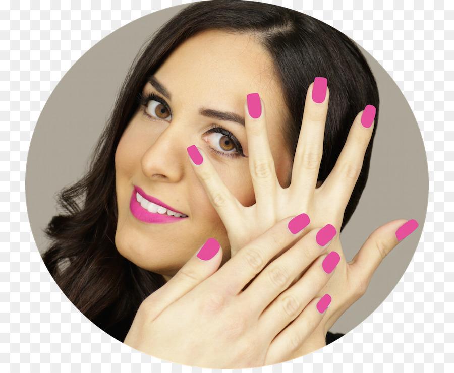 Manicure Nail Polish Hand model Eye Shadow - Nail png download - 800 ...