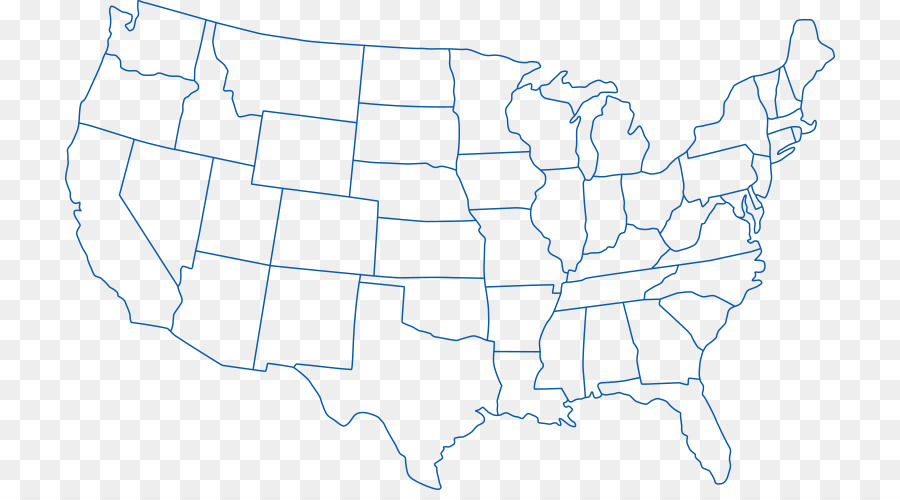 Outline of the United States Blank map World map - california (us ...