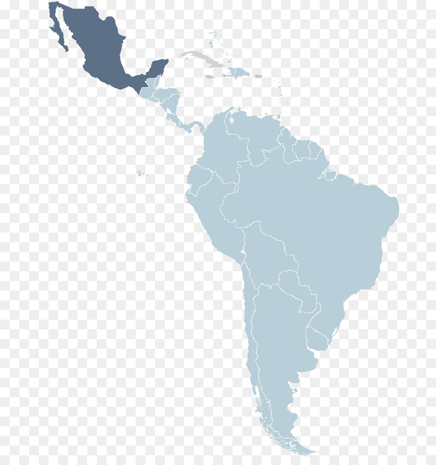 Latin America South America Blank Map World Map Map Png Download