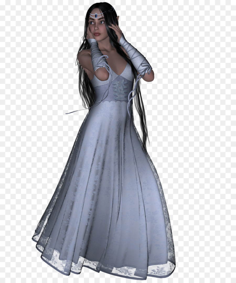 DeviantArt Dress Fairy Gown - tủ png download - 741*1077 - Free ...