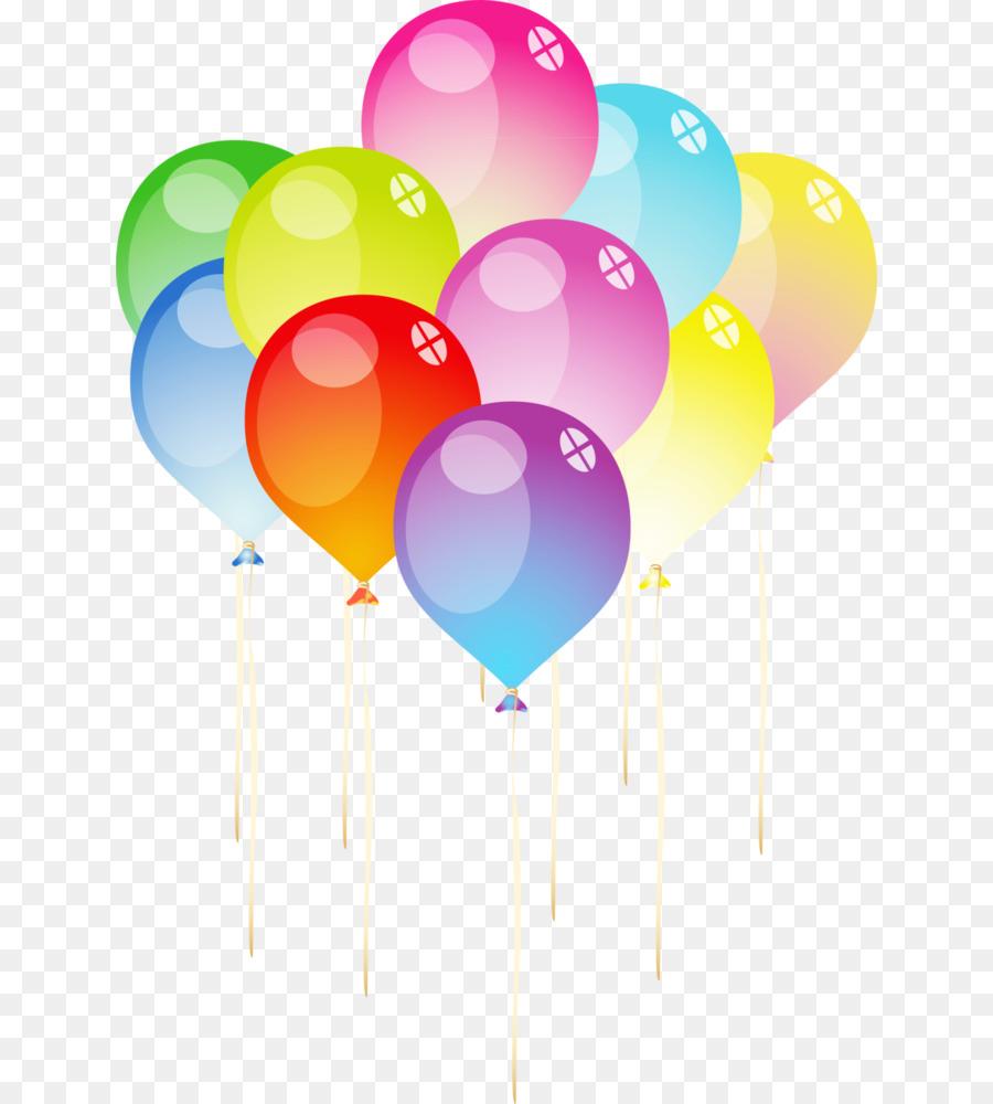 Juguete de globos de Cumpleaños Fronteras y Marcos Clip art ...