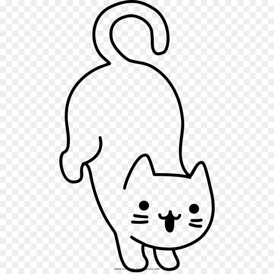 gato página para colorir para crianças livro de colorir desenho