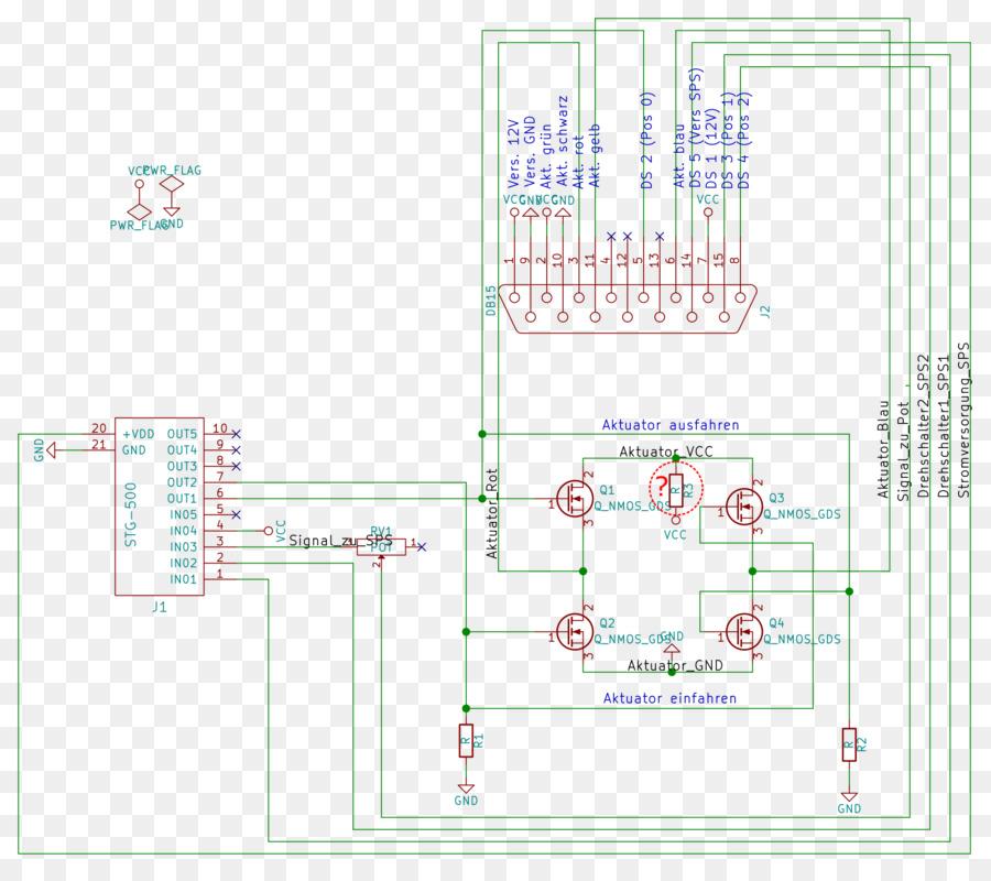 Circuit Diagram Microcontroller Actuator Electronic Circuit