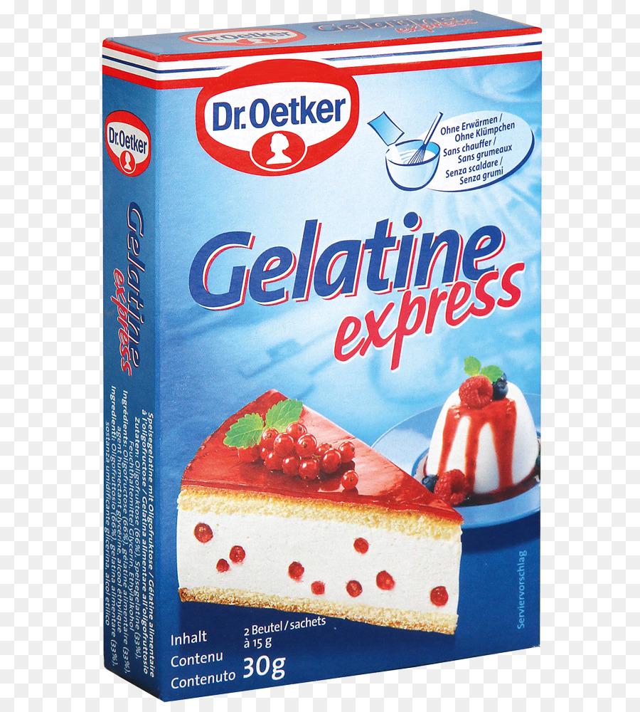 Gelatine Sahne Torte Kasekuchen Von Dr Oetker Gelatine Dessert