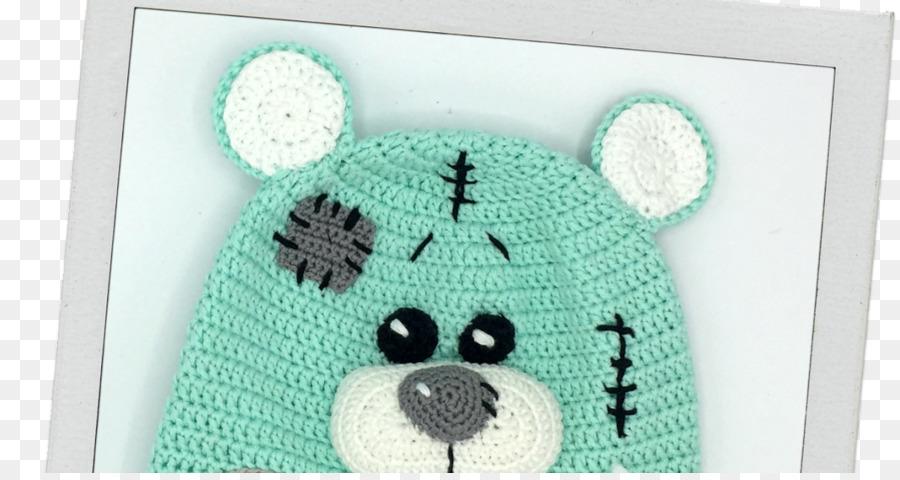 Crochet Tejer Gorro Textil Patrón - niño png dibujo - Transparente ...