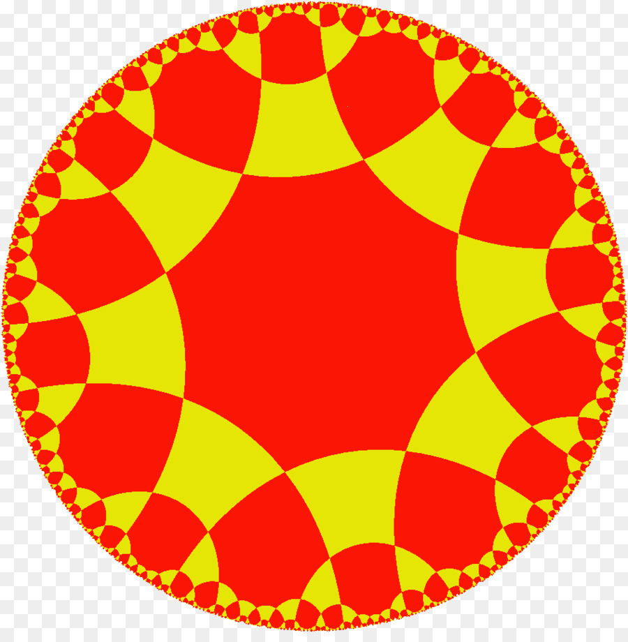 Hyperbolic Geometry Yellow png download - 947*952 - Free Transparent
