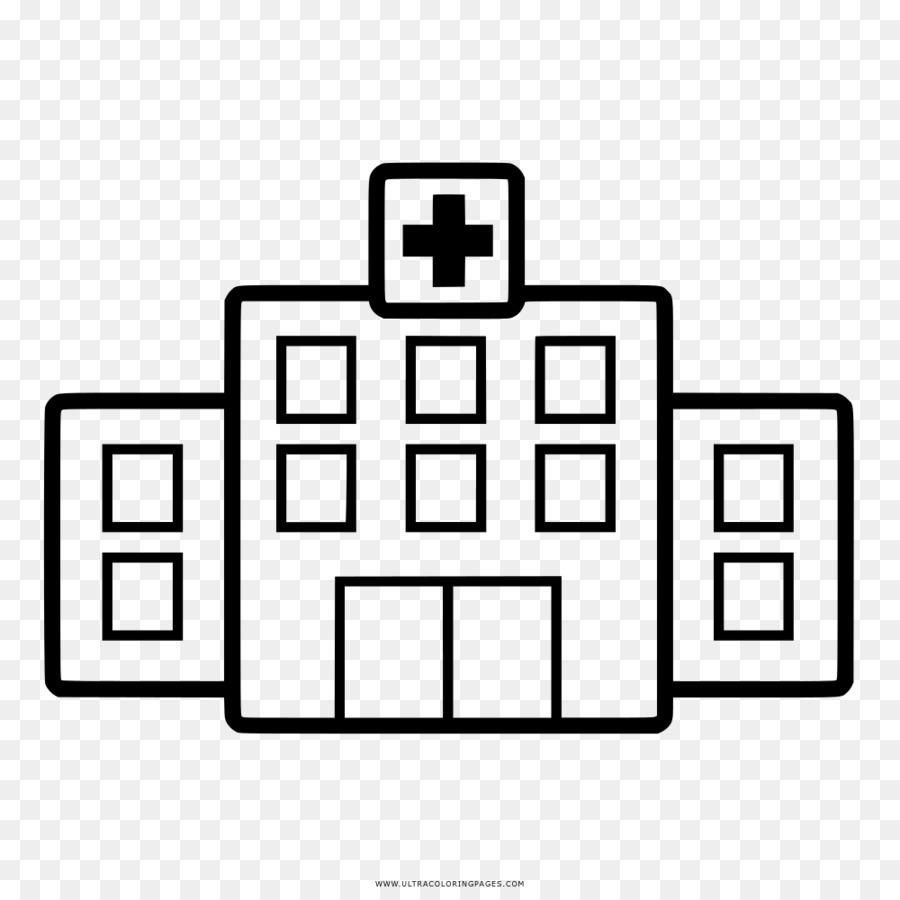 Drawing Hospital Napoleón Laureano Coloring book - DBD png dibujo ...