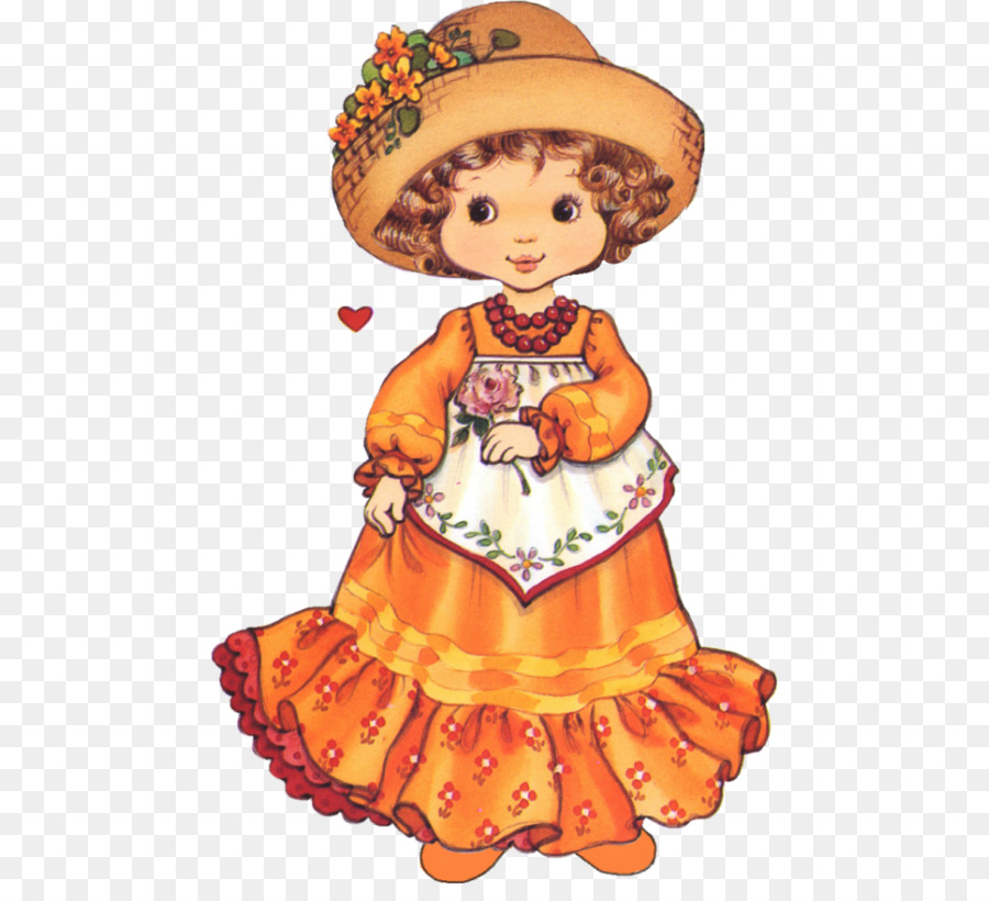 paper doll korean paper barbie mexican doll png download 517 804