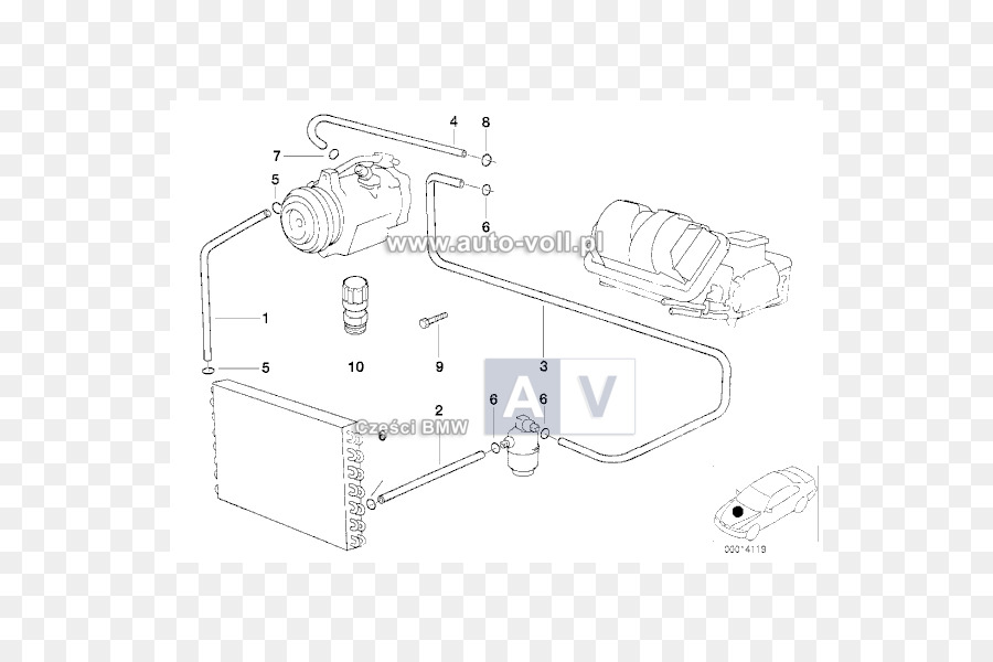 Bmw Car Technology Condenser