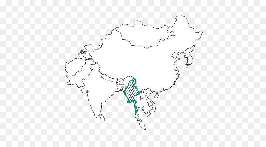 Pearl River Xi River Hong Kong Yangtze Macau - map png download ...